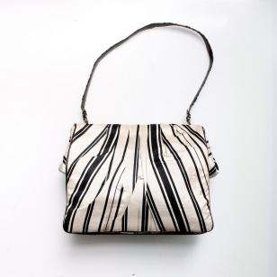dries von noten silk handbag